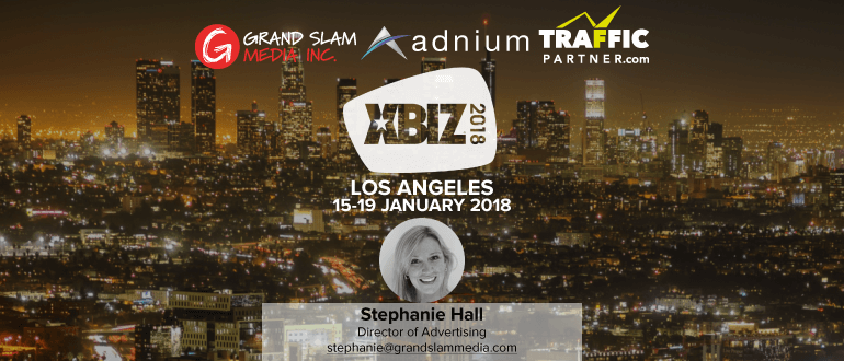 Meet Grand Slam Media at Xbiz LA from January 15-19!