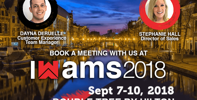Meet Grand Slam Media in Amsterdam at WMA 2018!