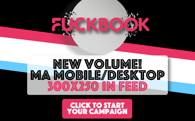 New Volume! Members' Area Mobile/Desktop 300x250 in Feed - Fuckbook