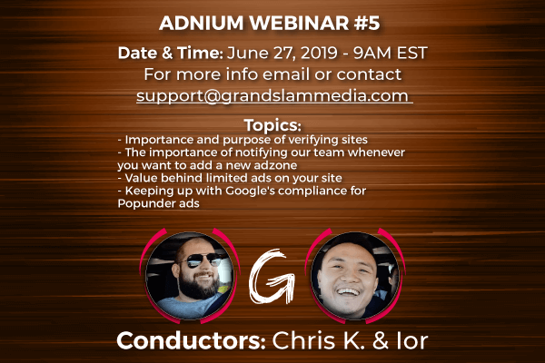Adnium Webinar #5: Attention All Publishers!