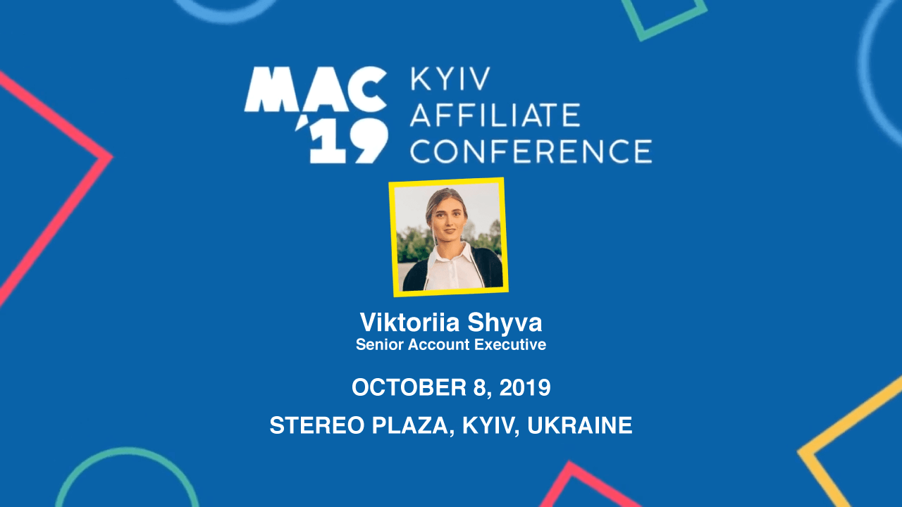 Grand Slam Media will be at MAC Affiliate Conference '19 on October 8 at Stereo Plaza, Kyiv, Ukraine.