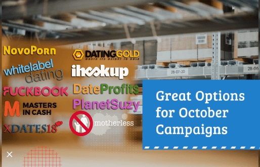 Great Options for October Campaigns