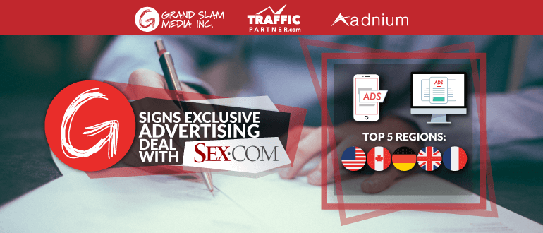 GSM Signs Exclusive Advertising deal with Sex.com