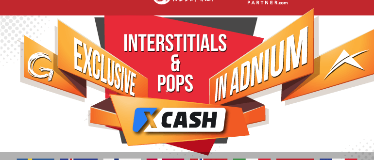 XCash Members' Area Pops Now Offered Exclusively in Adnium