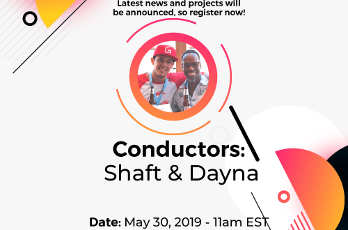 First Ever Webinar Collaboration - Adnium & Cam4 Latest news and projects will be announced, so register now! Conductor: Shaft & Dayna Date: May 30, 2019